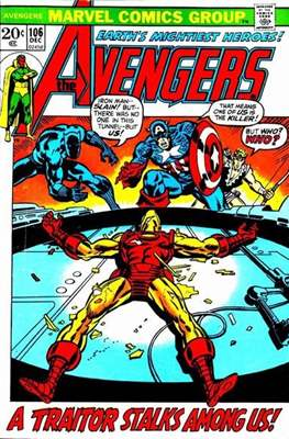 The Avengers Vol. 1 (1963-1996) (Comic Book) #106