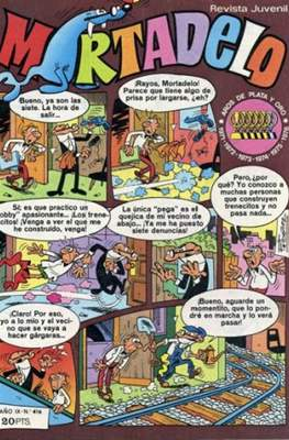 Mortadelo (1970) (Grapa) #416