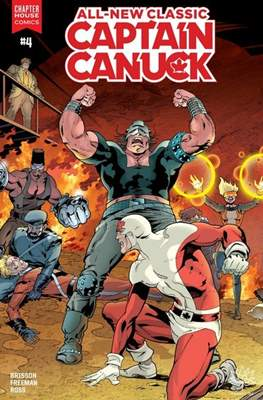 All-New Classic Captain Canuck #4