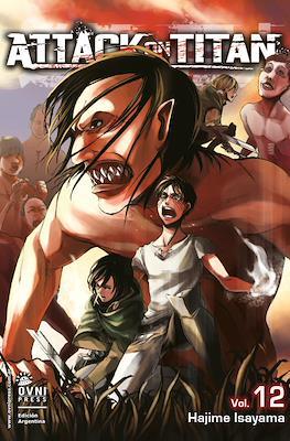 Attack on Titan (Rústica con solapas) #12