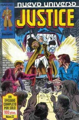 Justice (1988-1989) (Grapa. 17x26. 24 páginas. Color.) #12