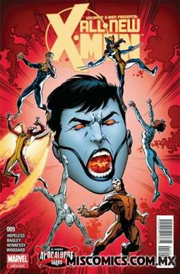 Uncanny X-Men (2016-2017) (Grapa) #9