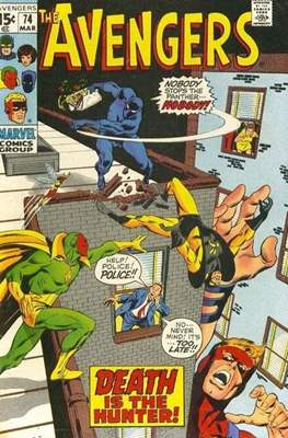 The Avengers Vol. 1 (1963-1996) (Comic Book) #74