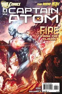 Captain Atom The New 52! (2011-2012) #4