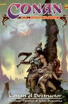Conan el Bárbaro. Novelas graficas #10