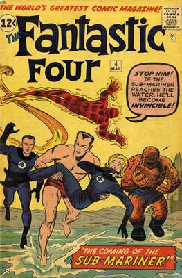 Fantastic Four Vol. 1 (1961-1996) #4