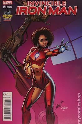 Invincible Iron Man (Vol. 3 2017-2018 Variant Cover) #1.2