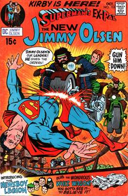 Superman's Pal, Jimmy Olsen / The Superman Family (Grapa,) #133