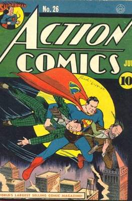Action Comics Vol. 1 (1938-2011; 2016-) (Comic Book) #26