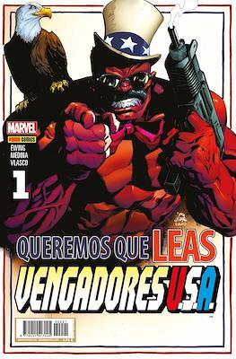 Vengadores USA #1 (Portada alternativa)