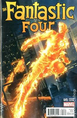 Fantastic Four Vol. 5 (Variant Cover) #645