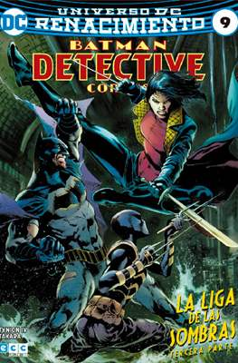 Batman: Detective Comics (Binder, 48 a 72 páginas a color. 24x17cm.) #9