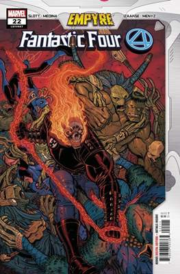 Fantastic Four Vol. 6 (2018-...) (Comic Book) #22