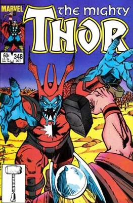 Journey into Mystery / Thor Vol 1 (Comic Book) #348