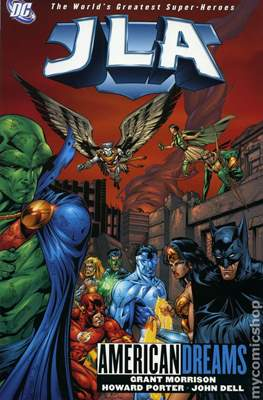 JLA Vol. 1 (1997-2006 Variant Cover) (Softcover) #2