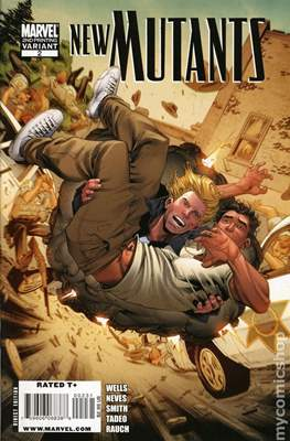 New Mutants Vol.3 (2009-2012 Variant Cover) #2.1