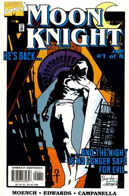 Moon Knight Vol. 3 (1998) (Comic Book) #1