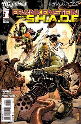 Frankenstein: Agent of S.H.A.D.E. (Comic book) #1