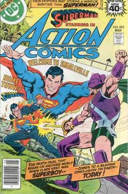 Action Comics Vol. 1 (1938-2011; 2016-) (Comic Book) #495
