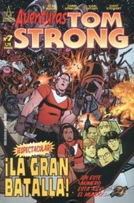 Aventuras de Tom Strong (2003-2004) (Grapa 24-32 pp) #7
