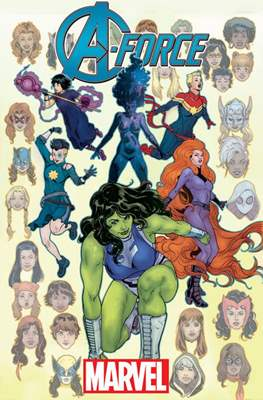 A-Force Vol. 2 (Variant Cover)