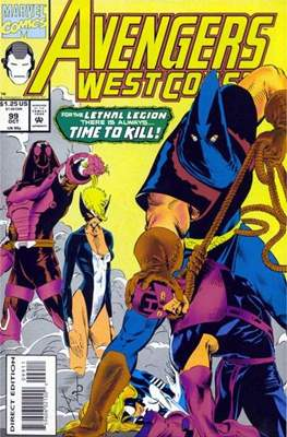 West Coast Avengers Vol. 2 (Comic-book. 1985 -1989) #99