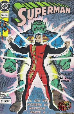 Supermán (1986-2001) (Grapa) #153