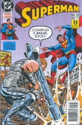 Superman Vol. 2 (1987-1993). El hombre de acero / Superman (Grapa 36 pp) #118