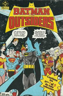 Batman y los Outsiders (1986) (Retapado Rústica) #1
