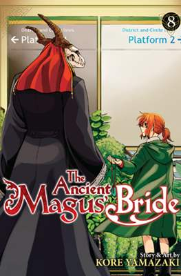 The Ancient Magus' Bride (Paperback) #8