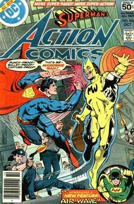 Action Comics Vol. 1 (1938-2011; 2016-) (Comic Book) #488