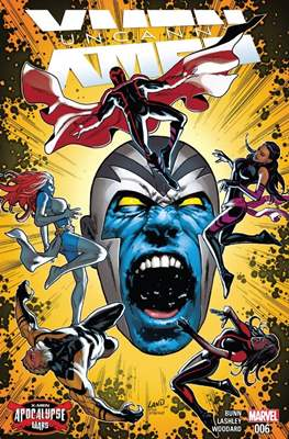Uncanny X-Men (Vol. 4 2016-2017) (Comic-book) #6