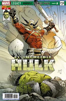 El Increíble Hulk Vol. 2 / Indestructible Hulk / El Alucinante Hulk / El Inmortal Hulk (2012-) (Comic Book) #73