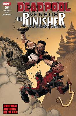 Deadpool versus The Punisher (Comic Book) #4