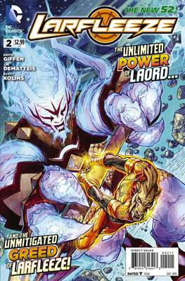 Larfleeze (2013-2014). The New 52 (Grapa) #2