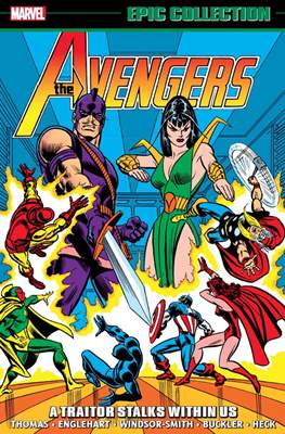 The Avengers Epic Collection #6