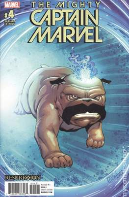 The Mighty Captain Marvel (2017-) Variant Covers #4.1