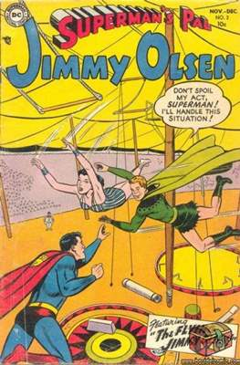 Superman's Pal, Jimmy Olsen / The Superman Family (Comic Book) #2