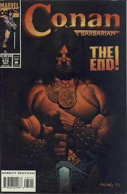 Conan The Barbarian (1970-1993) (Comic Book 32 pp) #275