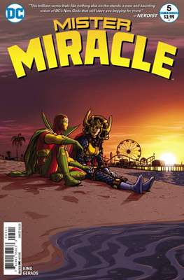 Mister Miracle (Vol. 4, 2017- 2018) #5
