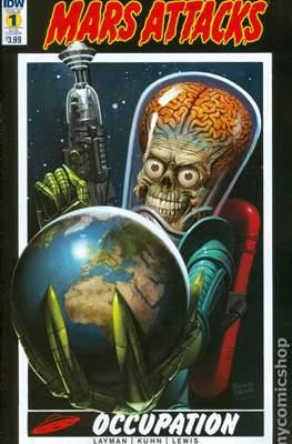 Mars Attacks Occupation (Variant Cover)