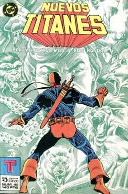 Nuevos Titanes Vol. 1 (1984-1988) (Grapa 40 pp) #45