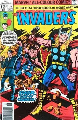 The Invaders (Comic Book. 1975 - 1979) #32