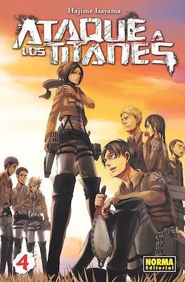 Ataque a los Titanes (Rústica con sobrecubierta) #4