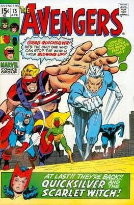 The Avengers Vol. 1 (1963-1996) (Comic Book) #75