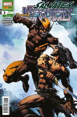 Salvajes Vengadores (Grapa) #2
