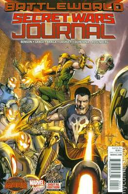 Secret Wars Journal (Comic-book) #4