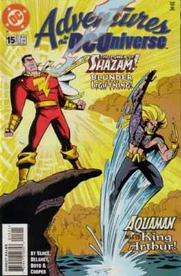 Adventures in the DC Universe (comic grapa usa) #15