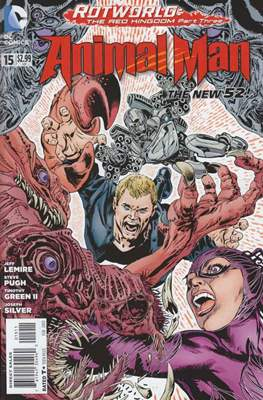 Animal Man vol. 2 (2011-2014) (Comic-book) #15