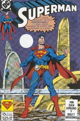 Superman: El Hombre de Acero / Superman Vol. 2 (Grapa 36 pp) #62